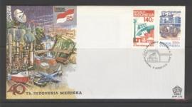 INDONESIË 1985 FDC 172