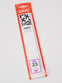 DAVO NERO STROKEN MOUNTS N25 (215 x 29) 25 STK/PCS