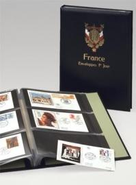 LUXE FDC ALBUM OPDRUK FRANCE
