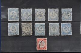 1921 PORT P69-79 GESTEMPELD ++ J 100