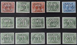 NEDERLAND 1940 NVPH 356-73 POSTFRIS ++ Q 274 AB + CERTIFICAAT
