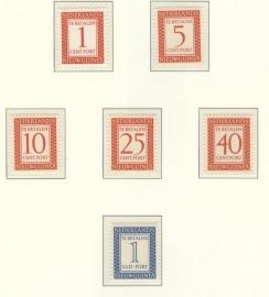Port Postfris 1950-1962