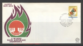 INDONESIË 1979 FDC 64