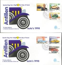 ANTILLEN 1998 FDC E292 AB AUTO