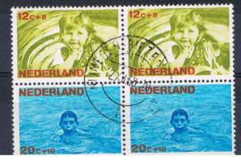 NEDERLAND 1966 NVPH 870-874 GEBRUIKT COMBINATIE ++ L 583