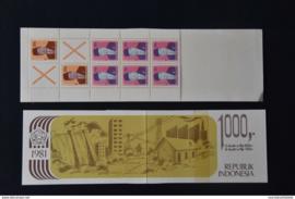 1981 BOOKLET PZB 7  POSTFRIS