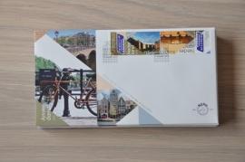 NEDERLAND NVPH FDC E647 AMSTERDAM