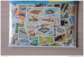Importa Postzegelpakket 50 vissen ++ 27