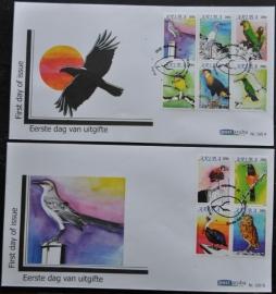 ARUBA 2010 FDC E 160AB VOGELS BIRDS