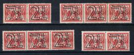 NEDERLAND 1940 NVPH 356AD PLAK(REST) ++ L 491