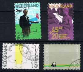 NEDERLAND 1971 NVPH 992-995 GEBRUIKT ++ L 595