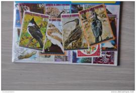 Importa Postzegelpakket 25 vogels ++ 30