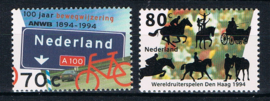 NEDERLAND 1994 NVPH 1616 FIETS PAARD ++ B 534