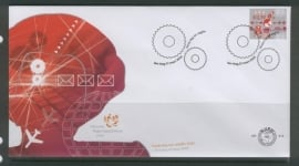 NEDERLAND NVPH FDC E513 ONDERNEMERS