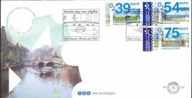 NEDERLAND NVPH FDC E453 EURO