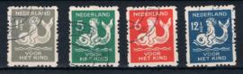 NEDERLAND 1929 NVPH R 82-85 GESTEMPELD ++ A 534