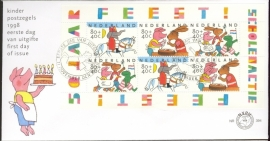 1998 NEDERLAND NVPH FDC E394A KIND