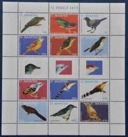 NVPH --- SERIE VOGELS BIRDS