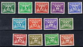 NEDERLAND 1941 NVPH 379-91 PLAK(REST) ++ K 139