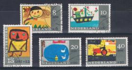 NEDERLAND 1965 NVPH 849-853 GEBRUIKT ++ L 560