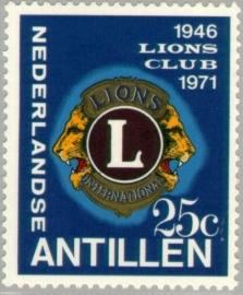 ANTILLEN 1971 NVPH SERIE 435 LIONS