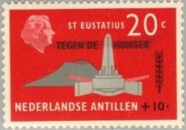 ANTILLEN 1963 NVPH SERIE 333 ANTI HONGER