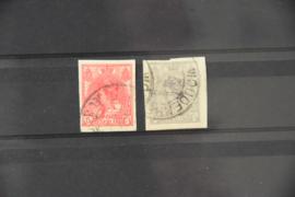 NEDERLAND 1923 NVPH 82-83 GESTEMPELD ++ A 432
