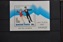 HONGARIJE 1979 MCHL BLOK 140A  OLYMPISCHE SPELEN ++ L 67