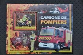 CENTRAAL AFRIKA 2012 BRANDWEER FIRE FIGHTING ++ M1 - 30
