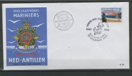 ANTILLEN 1965 FDC E039 KORPS MARINIERS