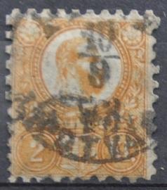 HONGARIJE 1871 MCHL 1 GEBRUIKT ++ L 98