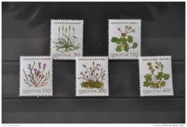 FAROËR 1980 MICHEL SERIE 48 BLOEMEN FLOWERS ++ J 113