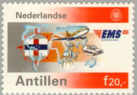 ANTILLEN 1991 NVPH SERIE 967 EMS