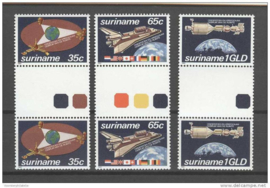 REP. SURINAME 1982 ZBL 280-282 BP A ++ P 337