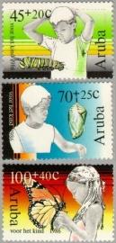 ARUBA 1986 NVPH SERIE 18 KINDERZEGELS