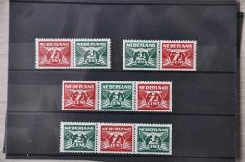 NEDERLAND 1941 NVPH 379A-D POSTFRIS ++ H 302