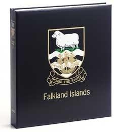 DAVO LUXE ALBUM FALKLAND ISLANDS DEEL I 1878-1995
