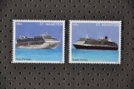 NVPH --- SERIE SCHEPEN SHIPS(2)