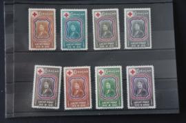CURAÇAO 1944 NVPH LP 45-52 POSTFRIS ++ R 124