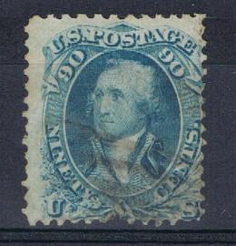 USA UNITED STATES 1861 MCHL 25  ++ C 187