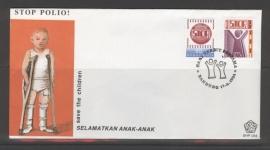 INDONESIË 1984 FDC 154