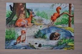 2001 YVERT BLOK 36 DIEREN ANIMALS ++ M