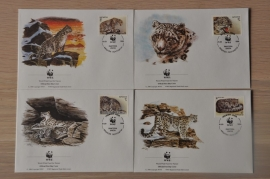 208 ++ FDC WWF WNF WERELD NATUUR FONDS ++ KAZACHSTAN SNEEUW LUIPAARD