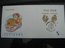 REP. SURINAME ZBL FDC E 319 A KIND