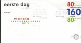 NEDERLAND NVPH FDC E388 KPN