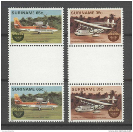REP. SURINAME 1984 ZBL 397-398 BP ++ P 332