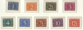 Postfris 1950-1959