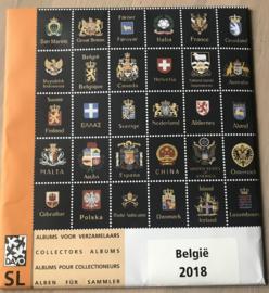DAVO ST. LUXE JAARGANG BELGIE 2018 GEEN KLEMSTROKEN
