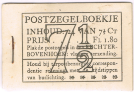 POSTZEGELBOEKJE 1942  PZB PZ 51N POSTFRIS ++ C 309
