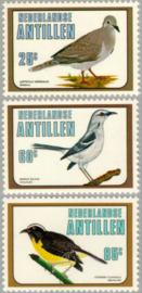 ANTILLEN 1980 NVPH SERIE 668 VOGELS BIRDS